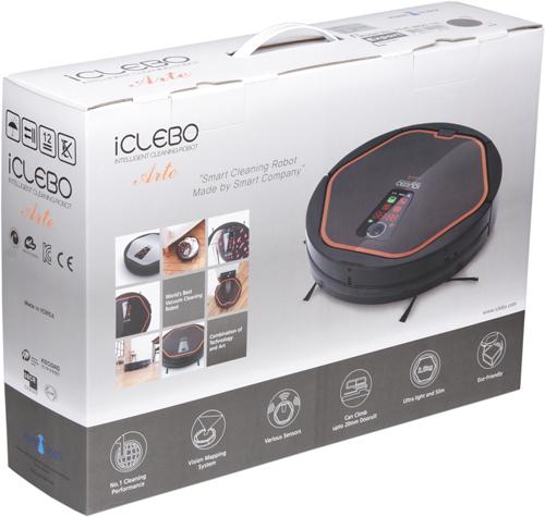 Робот-пылесос iClebo Arte, коробка