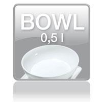 KS 29 kitchen scale: Bowl 0,5l