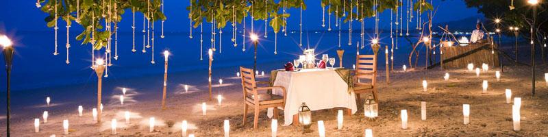 Организация свидания на пляже