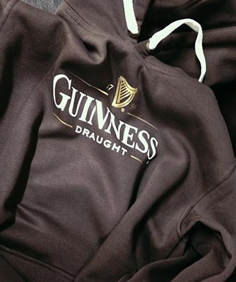 толстовка Guinness